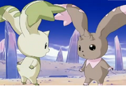 Lopmon y Terriermon