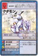 Kudamon carta