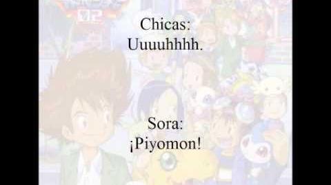 Digimon Adventure 02 Michi e no armor shinka (1 5) Traducción NO literal