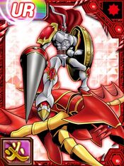 Dukemon Grani re collectors card