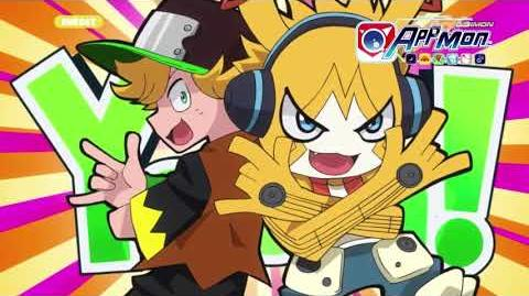 Digimon Appmon - 07 - Le 3e AppliDriver! Torajirô est un AppTuber! PV