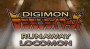 Digimon Tamers Runaway Locomon ENG Logo