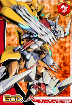 WarGreymon X-Antibody 6-903 (DCr)
