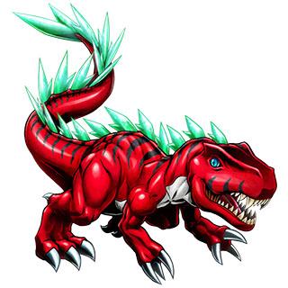 Tyrannomon X b