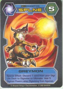 Greymon DT-7 (DT)