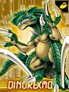 Dinorexmon ex collectors
