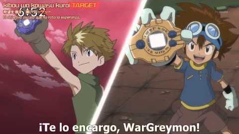 Digimon Xros Wars Capitulo 78 (La aparicion de todos los lideres sub esp)