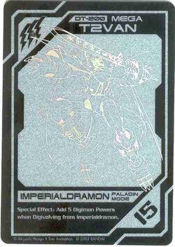 Imperialdramon (Paladin Mode) DT-200 (DT)