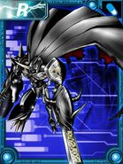 Omegamon zwart collectors card