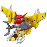 Shoutmon Jet Sparrow toy