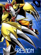 Wargreymon collectors card3
