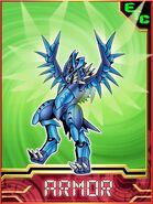 Peacockmon Collectors Armor Card