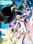 Sistermon blanc awaken and Sistermon noir awaken ex collectors card