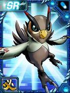 Falcomon re collectors card