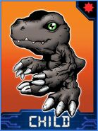 Agumon (Black) Collectors Child Card