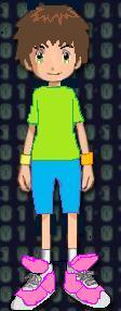 Digimon Tamer; Daniel Kayamai