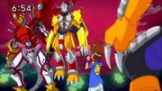 WarGreymon ShineGreymon XW76