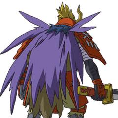 Shogunmons Rücken