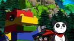 ToyAgumon Pandamon XW