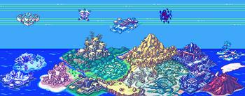 Digimon World Dawn y Dusk Mapa