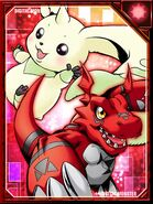 Terriermon and Guilmon RE Collectors Card