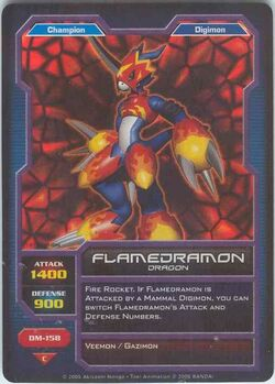 Flamedramon DM-158 (DC)