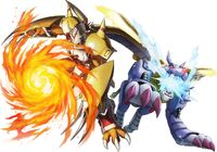 WarGreymon and MetalGarurumon (next 0rder) b