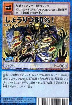 80% Winning Percentage! St-810 (DM)