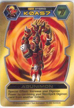 Agunimon DT-65 (DT)
