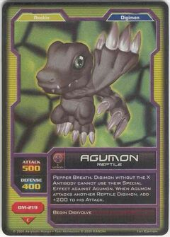 DM-219 Agumon