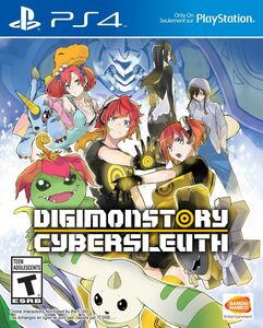 Digimon Story Cyber Sleuth NTSC Cover Art b