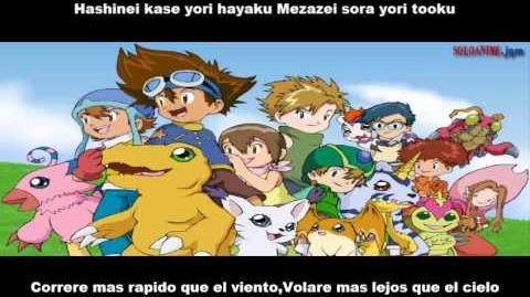 Digimon Adventure 01 Brave Heart Sub Español (SD HQ HD)