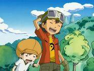 Takuya y Tommy cansado