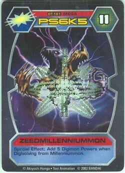 ZeedMillenniummon DT-161 (DT)