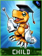 Agumon Hakase Collectors Child Card