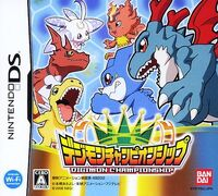 Game digimonchampionship cover