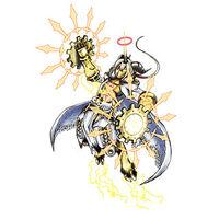 Aegiochusmon Holy b