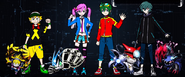 Digimon Universe Appli Monsters (Personnages et Digimons)
