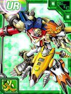 Shoutmon x7 Collectors EX Card