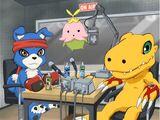 Agumon! Gaomon! Lalamon! Explosion! The Off-screen Last Battle!