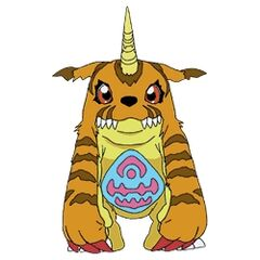 <b>Gabumon (Orange)</b>