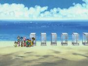 Strand der File Insel