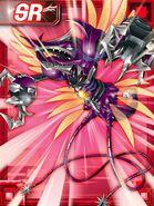 TyrantKabuterimon EX3 Collectors Card