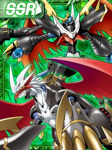 Imperialdramon dragon and fighter re collectors card
