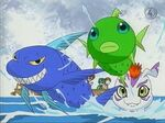 Marschierende Fische 1
