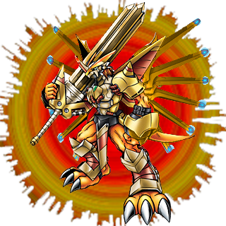 Shinegreymon Burst Mode Cool Fan Art