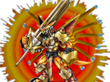 VictoryGreymon Burst Mode