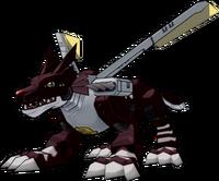 MetalGarurumon (Black) dwds