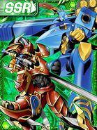KaiserGreymon and MagnaGarurumon re collectors card