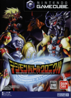 Digimon battle chronicle gamecube japon boxart